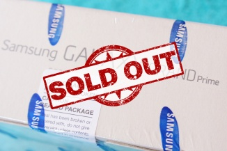 Samsung Galaxy Grand Prime Sold Out