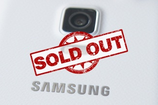 Samsung Galaxy Note 4 Sold Out