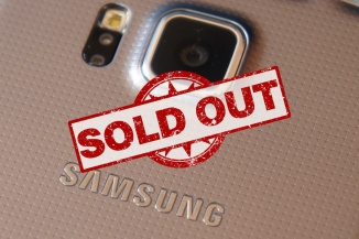 Samsung Galaxy Alpha Sold Out