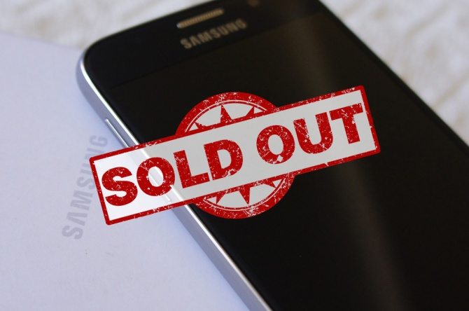 Samsung Galaxy S6 Sold Out