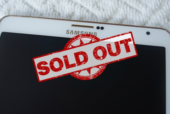 Galaxy Tab S Sold Out