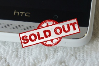 HTC One Max Sold Out
