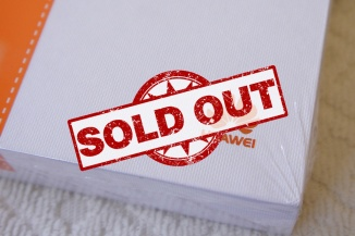 Huawei Mediapad X1 Sold Out