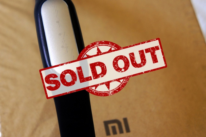 Mi Band Sold Out